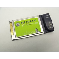 NETGEAR FA511 32-bit 10/100Mbps Fast Ethernet CardBus Notebook Adapter Card