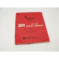 "3M 628 Intermediate 100 Sheet 8.5"" x 10.5"" Dry Photo Projection Transparencies"