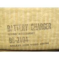 NEW Galaxy 2100 Video Centre Battery Charger BC-2104 Video Accessory