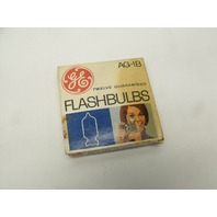 Lot of 3 Vintage GE General Electric AG-1B Flashbulbs - 30 Bulbs Total
