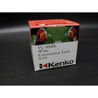 New Kenko VC-050Hi Wide Conversion 0.5x Lens