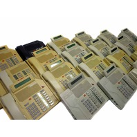 Lot of 20 Nortel Meridian M2616 Business Phones w/ Handsets Parts/Repair