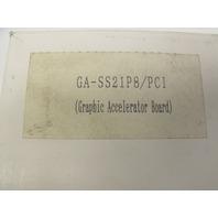 New I/O Data Device GA-SS21P8/PCI-2 Graphics Accelerator Board