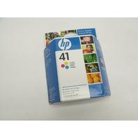 New Genuine HP 41 Tri-Color Inkjet Color Print Cartridge
