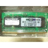 New 512MB 533MHz DDR II SODIMM 374662-931 Laptop Memory RAM New in BOX