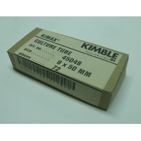 Kimax Culture Tube 6 x 50mm, 72 pcs, art. no 45048