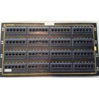 """Ortronics 96-Port CAT5e Patch Panel OR-851044816 RJ-45 4U 19"""" Rack Mount"""