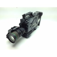 Sony DXC-537 Camcorder Black w/ Cannon BCTV Zoom Lens & Hard Case