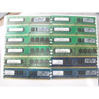 LOT OF 12 512MB 1RX8 PC2-4200 Server Memory