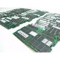 One BIG lot of 73 Mixed PC133 Memory Desktop & Server L@@K