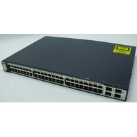 Cisco Catalyst 3750 Series WS-C3750-48TS-S 48 Port Managed Switch Tested