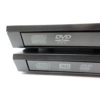 Lot 2 Dell PD02S External Optical Drive Bay eSATA DVD-ROM DVD-RW CD-RW w/ Cable