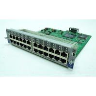 HP Procurve 10/100-TX gl J4862B 24 Port Switch Module 5065-6597