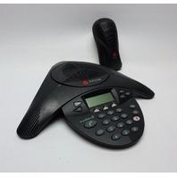 Polycom SoundStation 2 Conference Phone System 2201-16200-601 Expandable