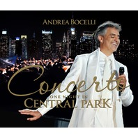 NEW Andrea Bocelli Concerto One Night in Central Park  - 4 Disc Deluxe