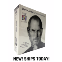New Sealed Steve Jobs by Walter Isaacson 2011 20 CD Set Unabridged $49.99 Apple