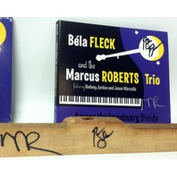 Bela Fleck Marcus Roberts trio Across the Imaginary Divide Signed Numbered READ!