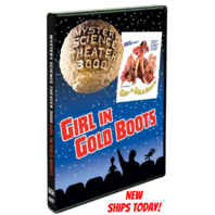 NEW Mystery Science Theater 3000 Girl In Gold Boots MST3K DVD SEALED MOVIE