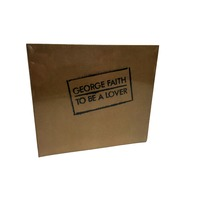 New (Sealed) George Faith  To Be A Lover  Limited Edition CD NUMBERED NIB