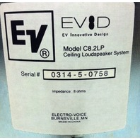 EV Electro Voice Model C8.2LP Ceiling Loudspeaker