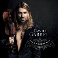 NEW David Garrett Deluxe Fan Pack: MEDIUM  T-shirt, Rock Symphonies CD, Autographed Picture