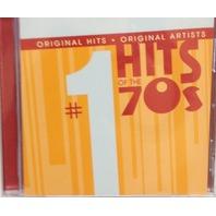 NEW #1 Hits of the 70s CD: Original Hits, Original Artists (2006)