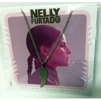 New Nelly Furtado The Spirit Indestructible Necklace w/Pendant Signed Sealed RARE