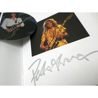 "Peter Frampton Best of FCA!35 Tour CD, DVD, 2XL T-Shirt ""A Walk in My Shoes"" Autographed Fan Book"