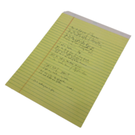 """Lyric Notepad (Copy) by Paul Simon (NEW) """"So Beautiful or So What"""""""