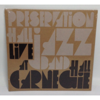 NEW  Preservation Hall Jazz Band Live at Carnegie Hall Fan Pack Vinyl