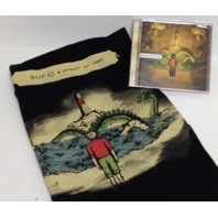 NEW Rufio Fan Pack: CD Anybody Out There MEDIUM T-Shirt + POSTER HOLIDAY PACK