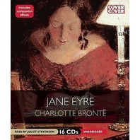 NEW Jane Eyre by Charlotte Bronte Audiobook read by Juliet Stevenseon (Unabridged, 16 CDs)