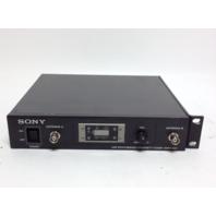 Sony UHF Synthesized Diversity Tuner WRR-802
