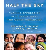 NEW Half the Sky Audiobook by Nicholas D. Kistof and Sheryl Wudunn Turning oppression into Opportunity for Women Worldwide