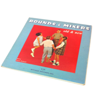 Bowmar Records .inc. Rounds and Mixers VINTAGE Record LP Vinyl Movie Prop