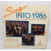 VINTAGE Sing into 1986 Spring Edition LP Choral Music for School Record Vinyl