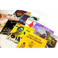 Lot of 10 Vintage Records LP Movie Prop