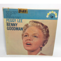 VINTAGE Penny Lee sings with Benny Goodman LP HL 7005 Record Vinyl