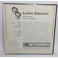 VINTAGE Let's Dance with David Carroll Orchestra LP SR-60001 Vinyl Record