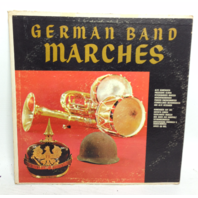 VINTAGE German Band Marches LP P-14300 Heinz Bartels Vinyl Record