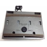 VINTAGE Dictaphone Foot Pedal Dictamatic Transcription Control