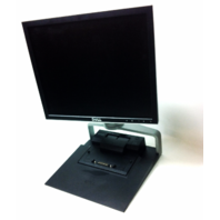 DELL 1708FPf  LCD MONITOR with Laptop Docking Staion