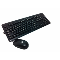 HP Ku-1156 Wired Keyboard with mouse