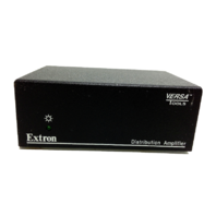 Extron Versa Tools Distribution Amplifier MDA 3SV with power supply