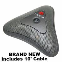 NEW Polycom 2215-20730-001 Mic Pod Accessory 10' ft Cable