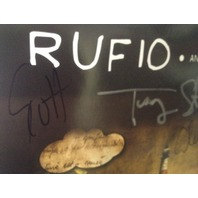 RUFIO Anybody Out There Fanpack CD + Poster + Large T-Shirt Hand Signed AUTOGRAPHED