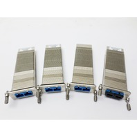 A Lot of 4 FluxLight Xenpak-10GB-LR Transceiver Modules