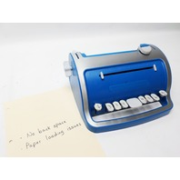 Perkins/APH Brailler Typewriter for the blind braille Perkins