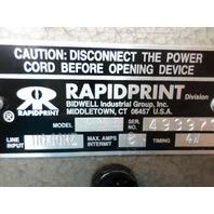 RAPIDPRINT AR-E