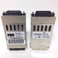 Lot of 11 Cisco Systems and 2 Cabletron Systems 1000 Base-SX Gigabit Interface Converters